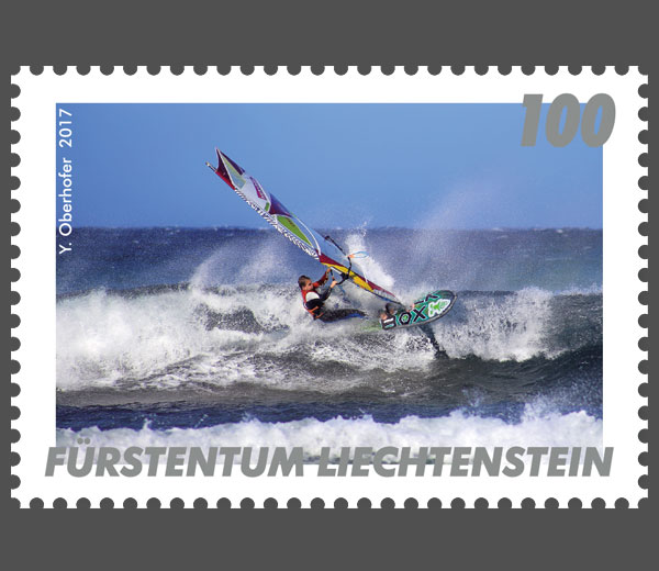 Windsurf Wintersturm