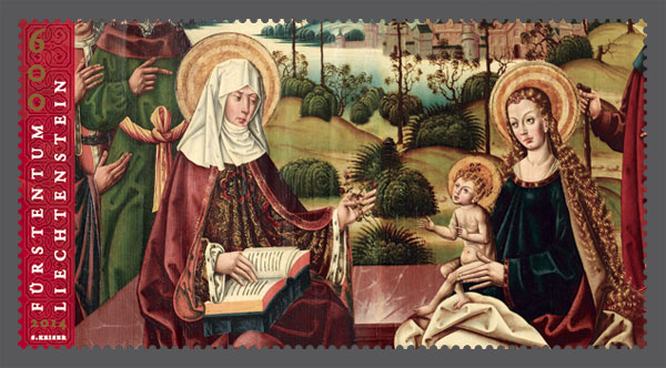 St. Anne und St. Mary with Christ-child